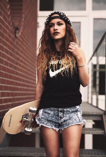 Skater Girl Flickr Photo Sharing