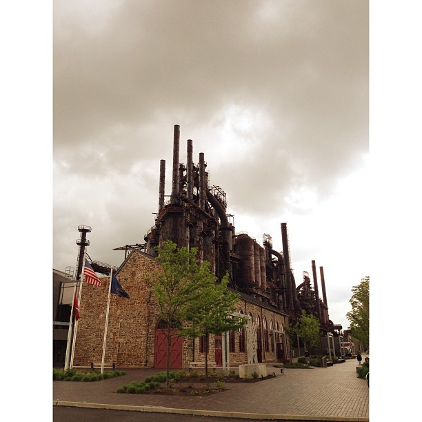 Steel stacks!  We are going to the movies!! #pictapgo_app
