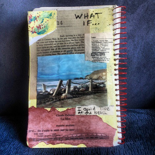 What if prompt #artjournal by quilter4010