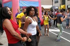 Dance Party in Philly Gayborhood