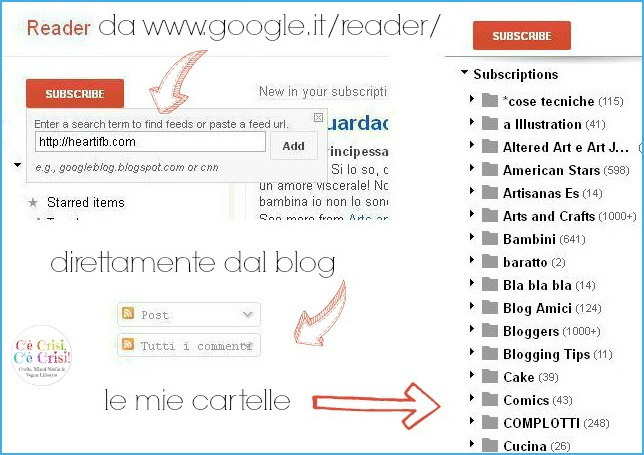 1 cartelle GR, google reader