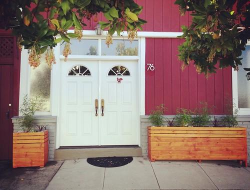 Weekend Home Improvement Undertaking: Planters!