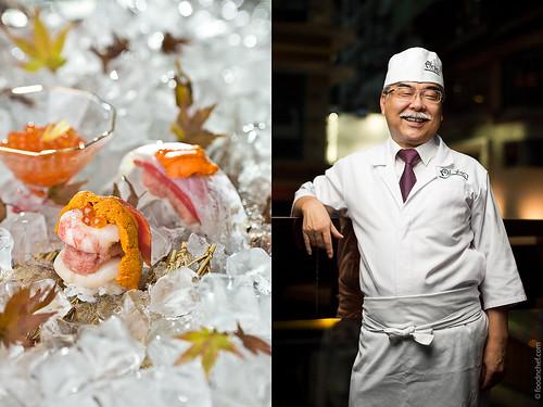 Mr. Sato Taisuke. Chef of AKA彤 Japanese Cuisine & Lounge