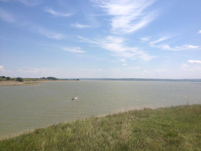 Lake Sakakawea winds