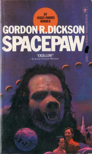 Spacepaw by Gordon R. Dickson. Berkley Medallion 1976. Cover artist Paul Lehr