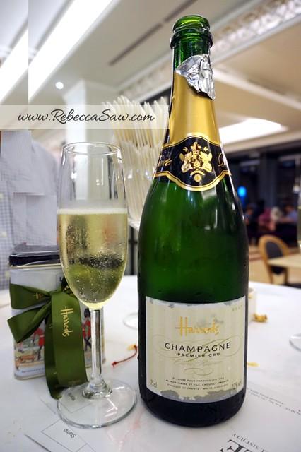 harrods KLCC champagne