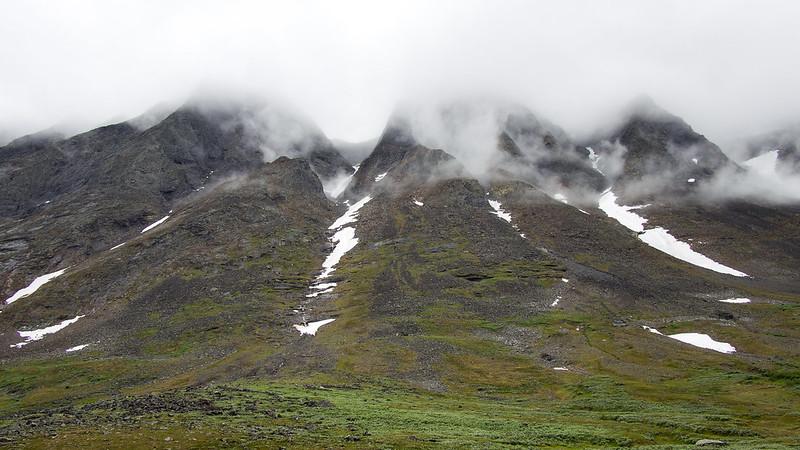 Schöne Bergkulisse