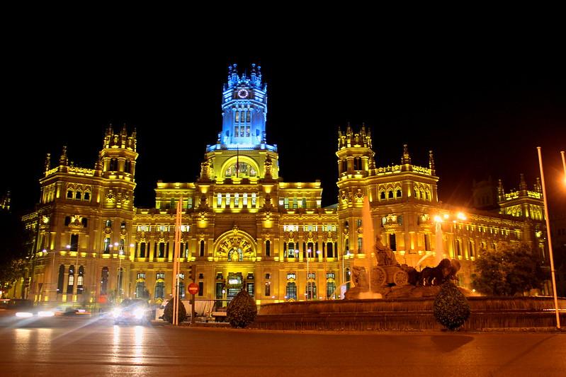 Plaza de Cibeles / Madrid - España