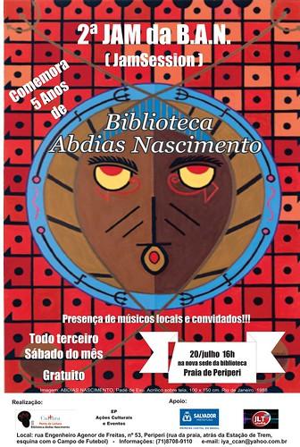 """""""5 anos de Biblioteca Abdias Nascimento"""" by Biblioteca Abdias Nascimento"""