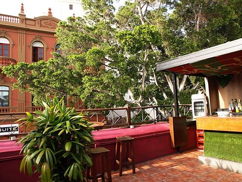 Rooftop bar, Bulan, La Noria