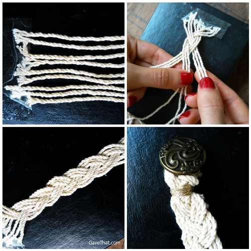 Step by Step Making a Turks Head Style Sailors Bracelet The Easy Way