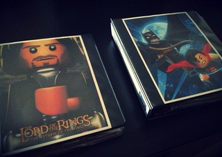 Lego Instruction Binders: Front page