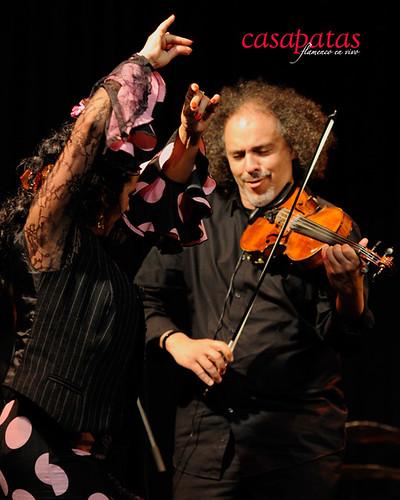 David Moreira, al violín. Foto: Martín Guerrero