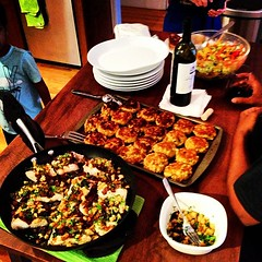 Deb's in charge of dinner - yum #whenisThanksgiving @tweety7721 @debbiethiru @dineshmt @ruchithiru @bisarya @arulsvelan