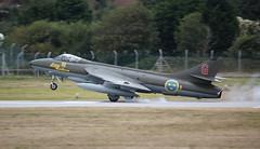 SE-DXM Hawker Hunter F58 on 9 September 2013