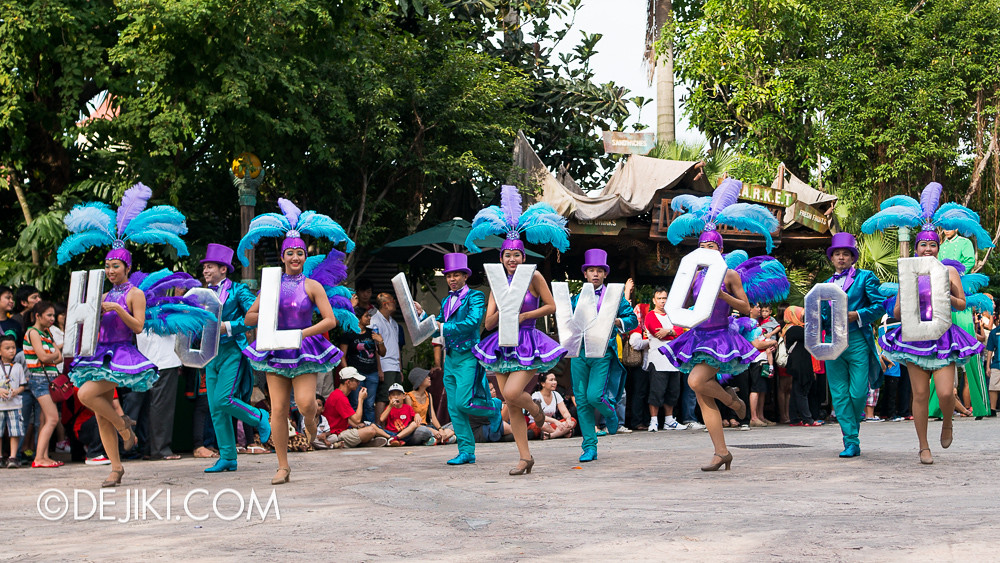 Universal Studios Singapore - Hollywood Dreams Parade - That's a Wrap!