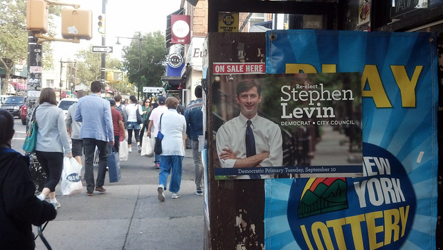 Re-elect Levin IN ASTORIA