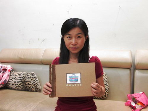 十大節出綠繪本徵件,第二名作者蘇雅雯與作品