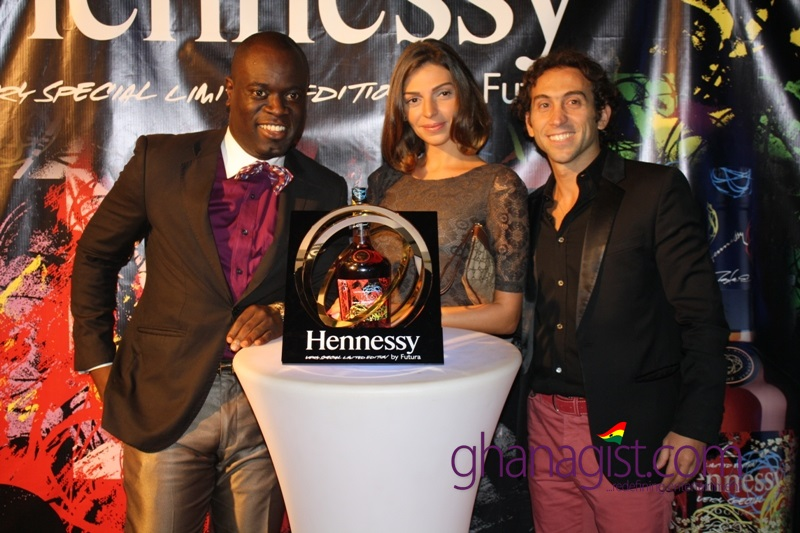 Henessy Futura launch in Ghana