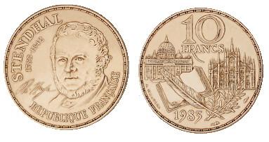France 10 Franc 1983