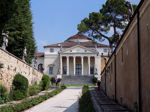 Entrada a la Villa Rotonda