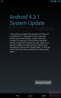 Что нового Android 4.3.1