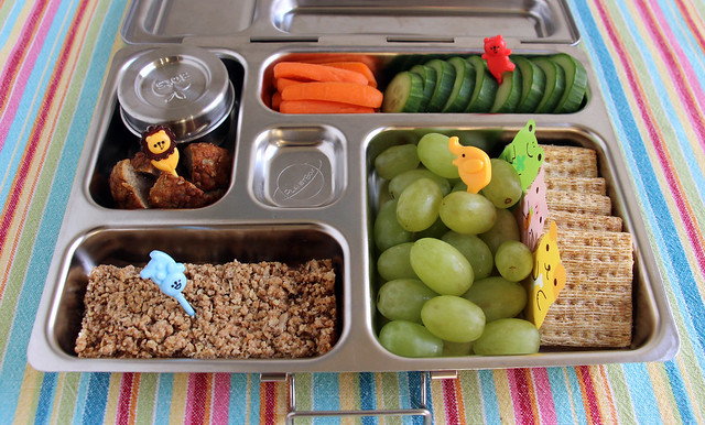 Preschool Animals Bento #515
