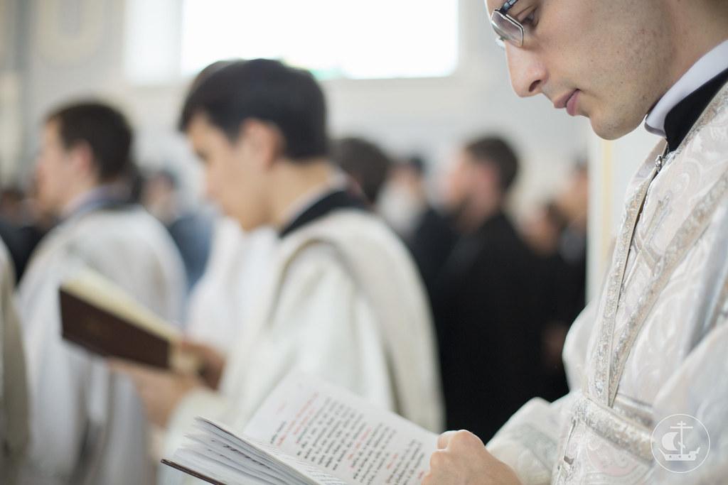 8 октября 2013, Панихида по начальствовавшим, учившим и учившимся СПбПДА