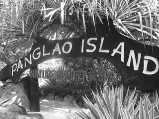 Bohol - Panglao Island Nature Resort sign