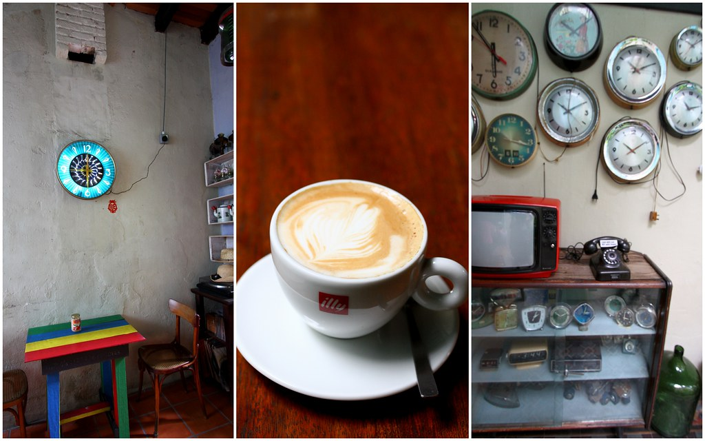 George Town Cafes: MoonTree 47's Clocks and Coffee