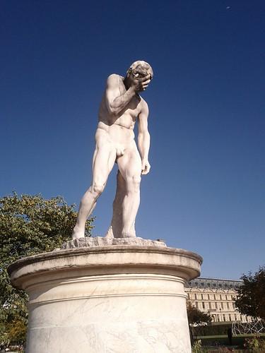FACEPALM (Caïn ayant tué Abel, Jardin des Tuileries)