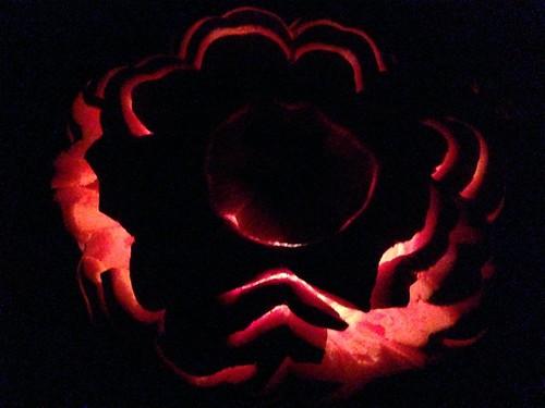 pumpkin, jack o'lantern, carving, candle, h… IMG_0987