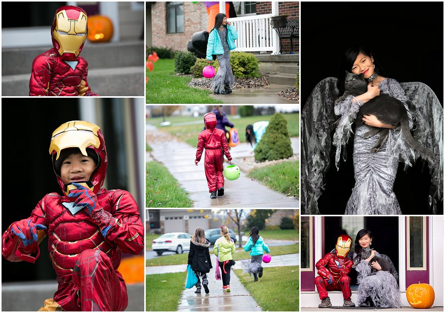 Halloween Collage 2013