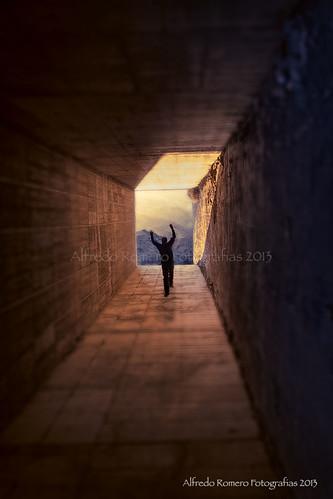 Al final del tunel by Alfredo Romero Fotografias 