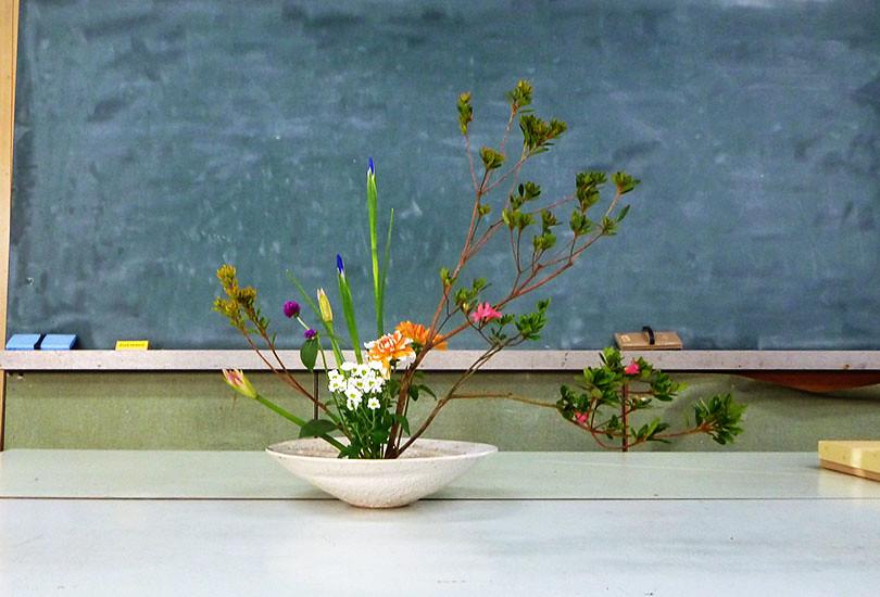 【盛花】キリシマツツジ、アイリス、小菊【2013_11_16】