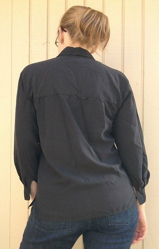 Silk Blouse Refashion
