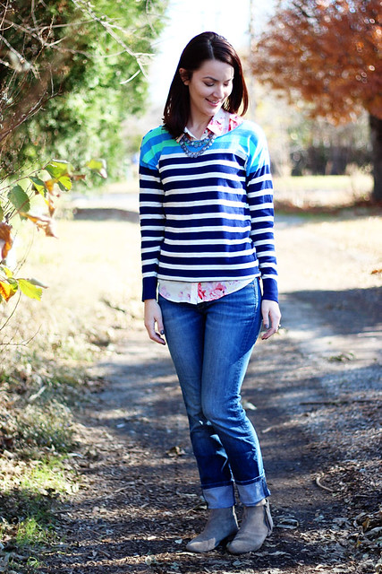 striped-sweater-floral-button-down-2