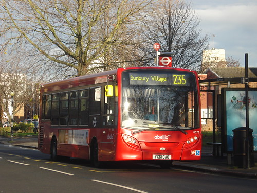 Abellio 8578 on Route 235, Brentford Ealing Road