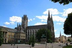 Church of St Ouen in Rouen