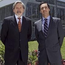 Ariel Pontón, Movistar Colombia y Alfonso Gómez, Telefónica Colombia