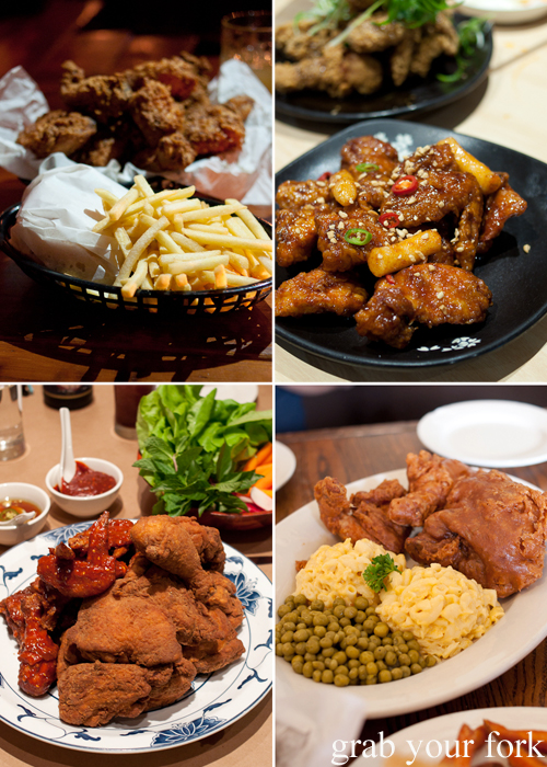 Fried chicken: Mary's Newtown; Red Pepper Strathfield; Willy Mae's New Orleans; and Momofuku Noodle Bar, New York