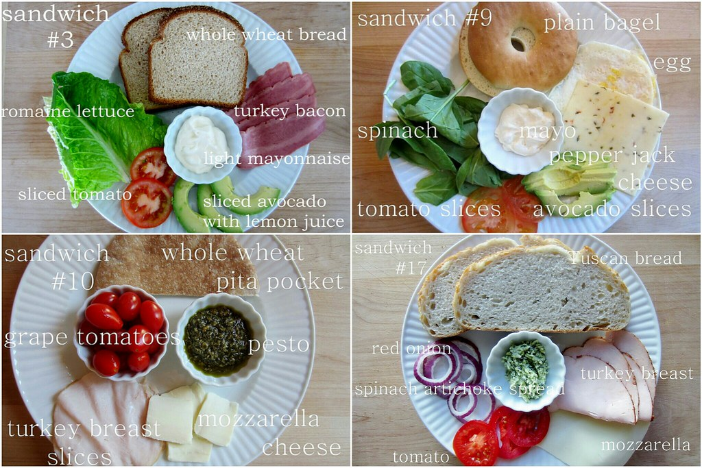 52 sandwiches project