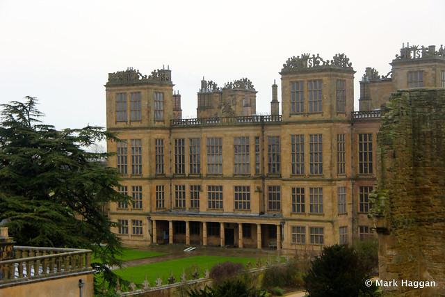 Hardwick Hall from Hardwick Old Hall