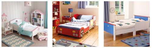 piccolo house kids bed frames
