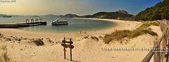 Praia de Rodas (Illas Cíes, Galicia)
