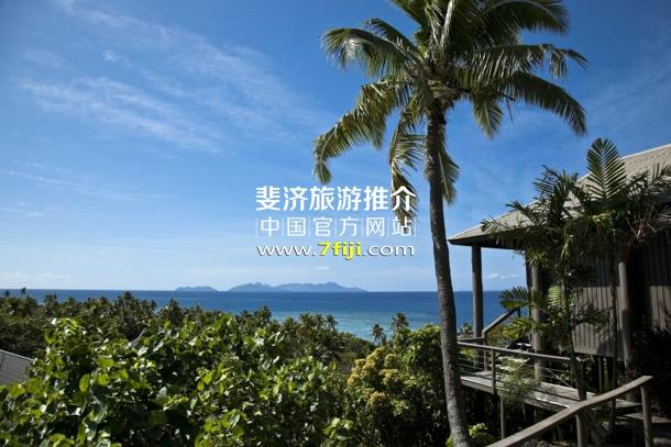 斐济沃莫岛度假酒店(Vomo Island Resort)靠山别墅