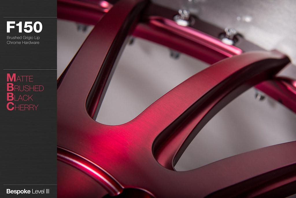 F150 Matte Brushed Black Cherry Avant Garde Wheels Flickr