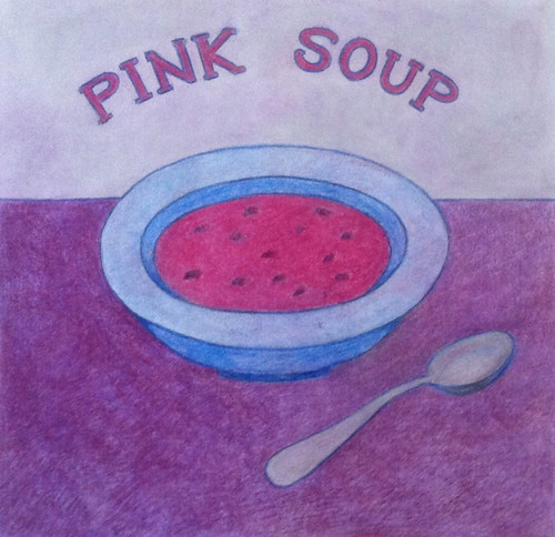 Pink Soup (Illustration) by randubnick