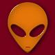 AlienHeadOrange