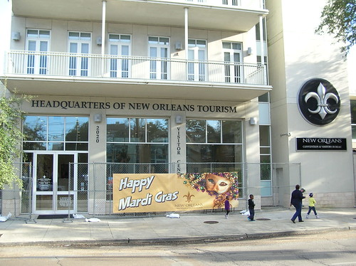 Headquarters of New Orleans Tourism